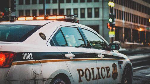 Police car in New York City