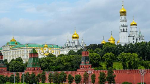 The Kremlin, Russia, Eastern Europe
