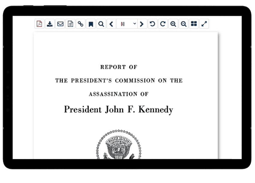 Kennedy assassination collection related works