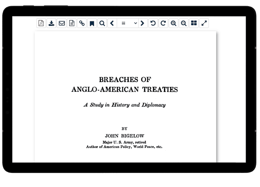 Treaty publication in HeinOnline's U.S. treaties database