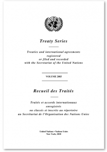 United Nations Treaty Series Picture