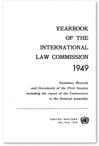 Yearbook of the United Nations of International Law Screenshot