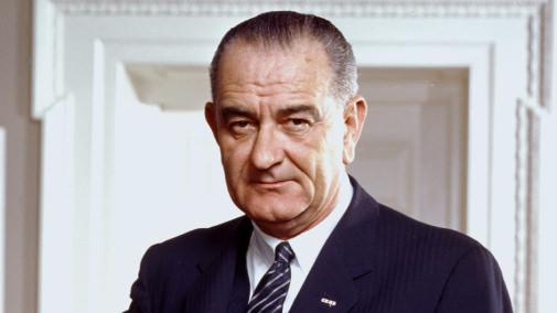 Portrait of president lyndon johnson