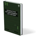 Interactive Entertainment Law Review cover