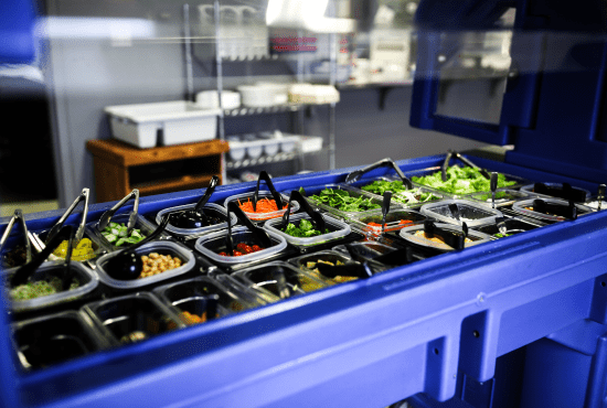 Salad Bar in the HeinOnline Lunch Room