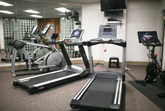 Treadmill in HeinOnline Fitness Center
