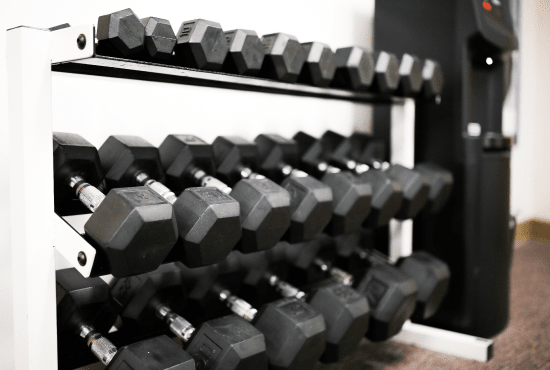 Weights in the HeinOnline Fitness Center