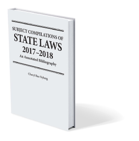 Subject Compilations of State Laws Book Cover